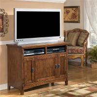 Ashley Furniture Cross Island 42 Inch Oak TV Stand with ...