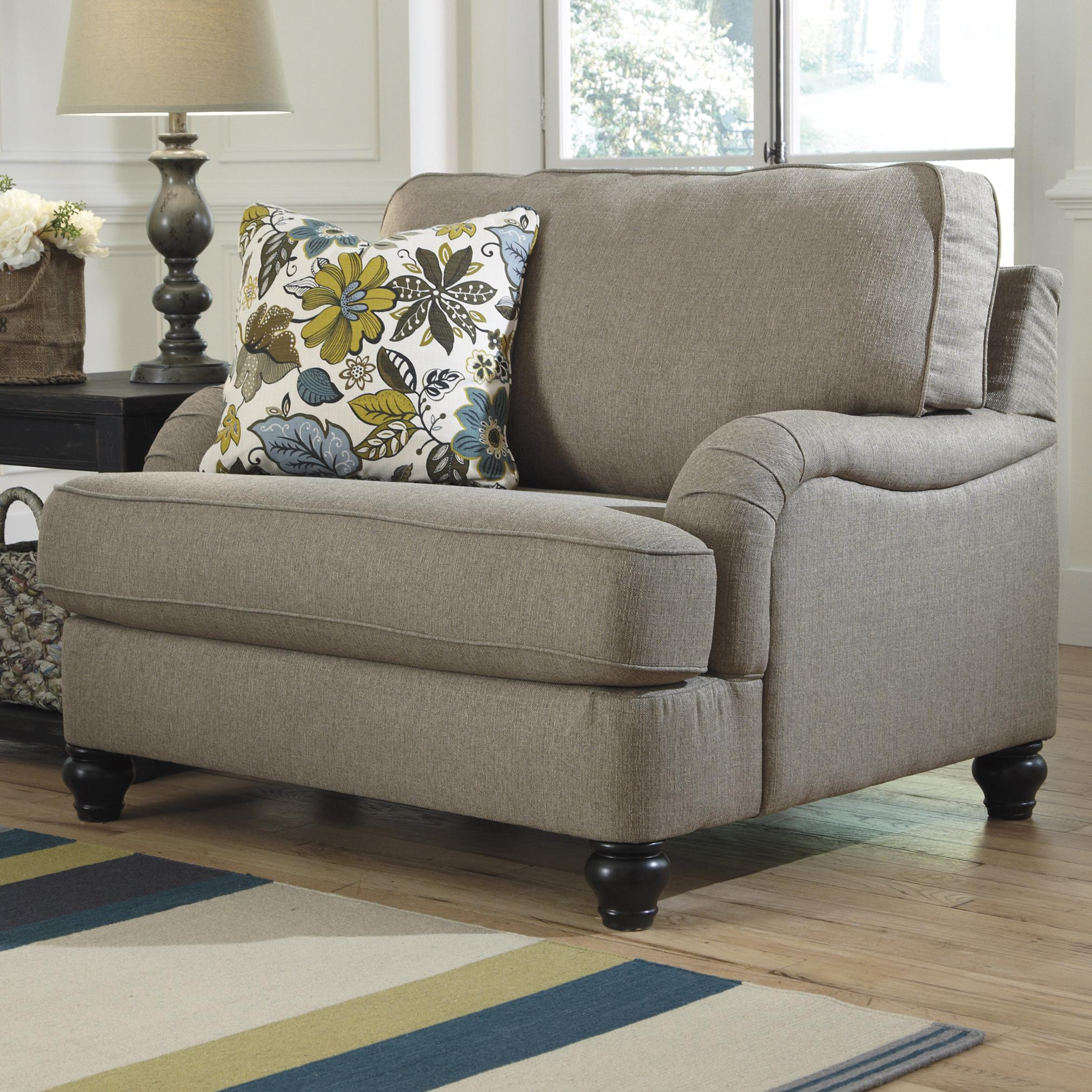 Ashley Furniture Hariston  Shitake Chair and a Half with