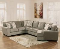 Patina 4-Piece Small Sectional with Right Cuddler ...