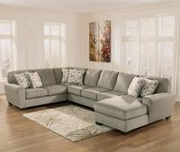 Ashley Furniture Patola Park - Patina 4-Piece Sectional ...