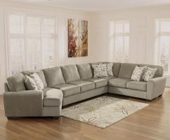 Ashley Furniture Patola Park   Patina 4 Piece Sectional ...