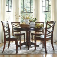 Ashley Furniture Porter 5-Piece Round Dining Table Set ...