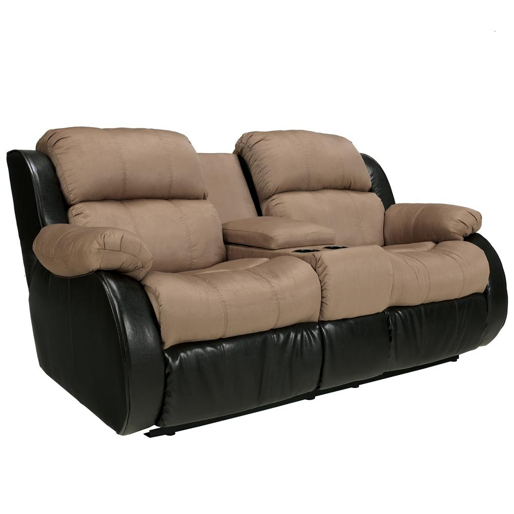 Ashley Furniture Recliner Chairs Ashley Furniture Presley Cocoa Casual Style Double Reclining
