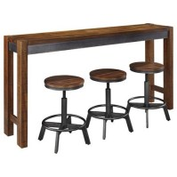 Signature Design by Ashley Torjin 4 Piece Rustic Long ...