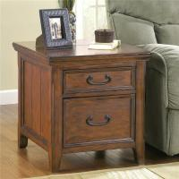 Signature Design by Ashley Woodboro Rectangular End Table ...