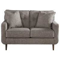 Ashley Furniture Zardoni Mid-Century Modern Loveseat ...