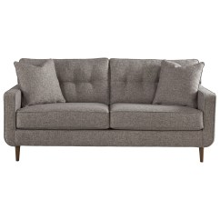 Ashley Furniture Modern Sofa Love Recliner Zardoni Mid Century Olinde S