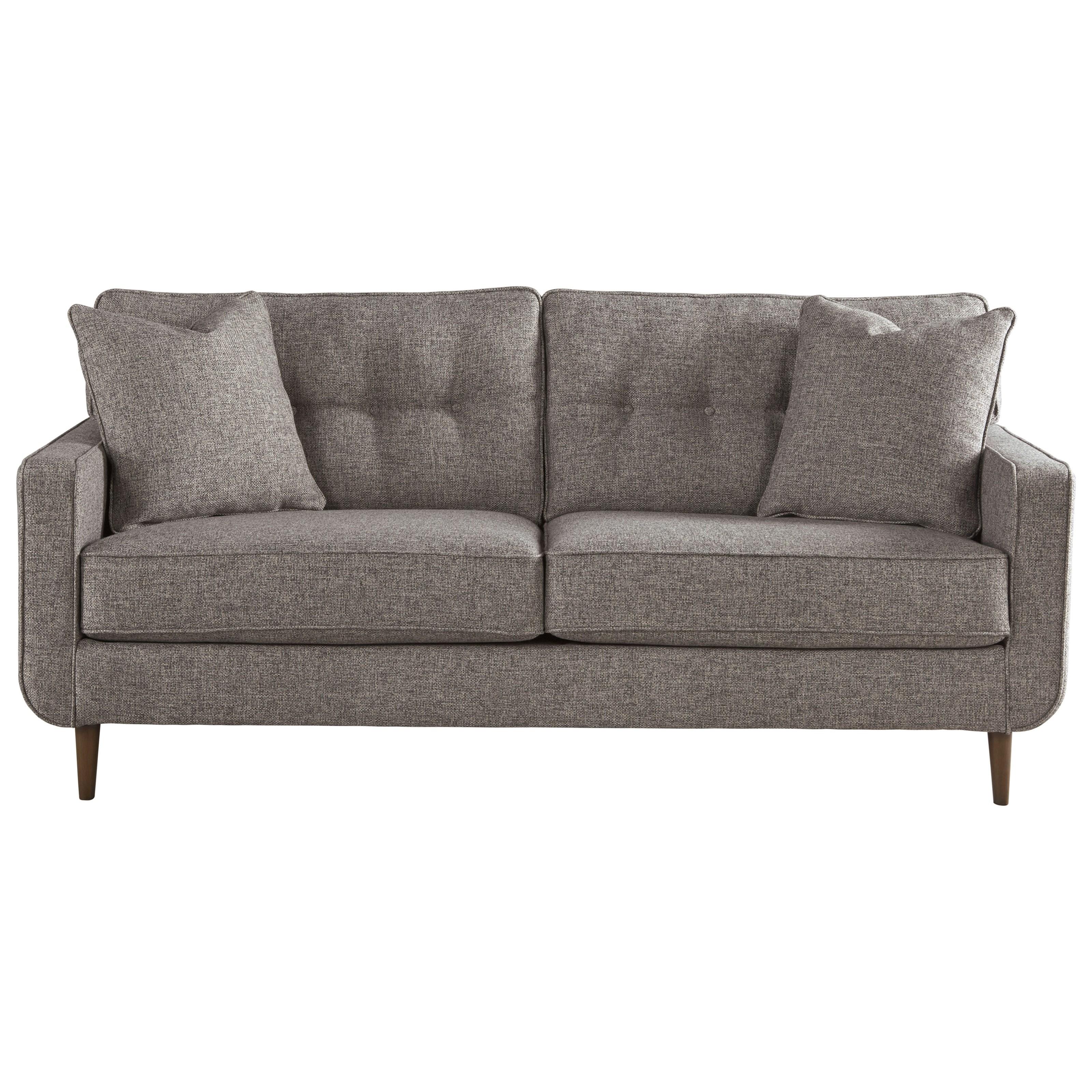 ashley furniture modern sofa simmons columbia stone reclining reviews zardoni mid century olinde s