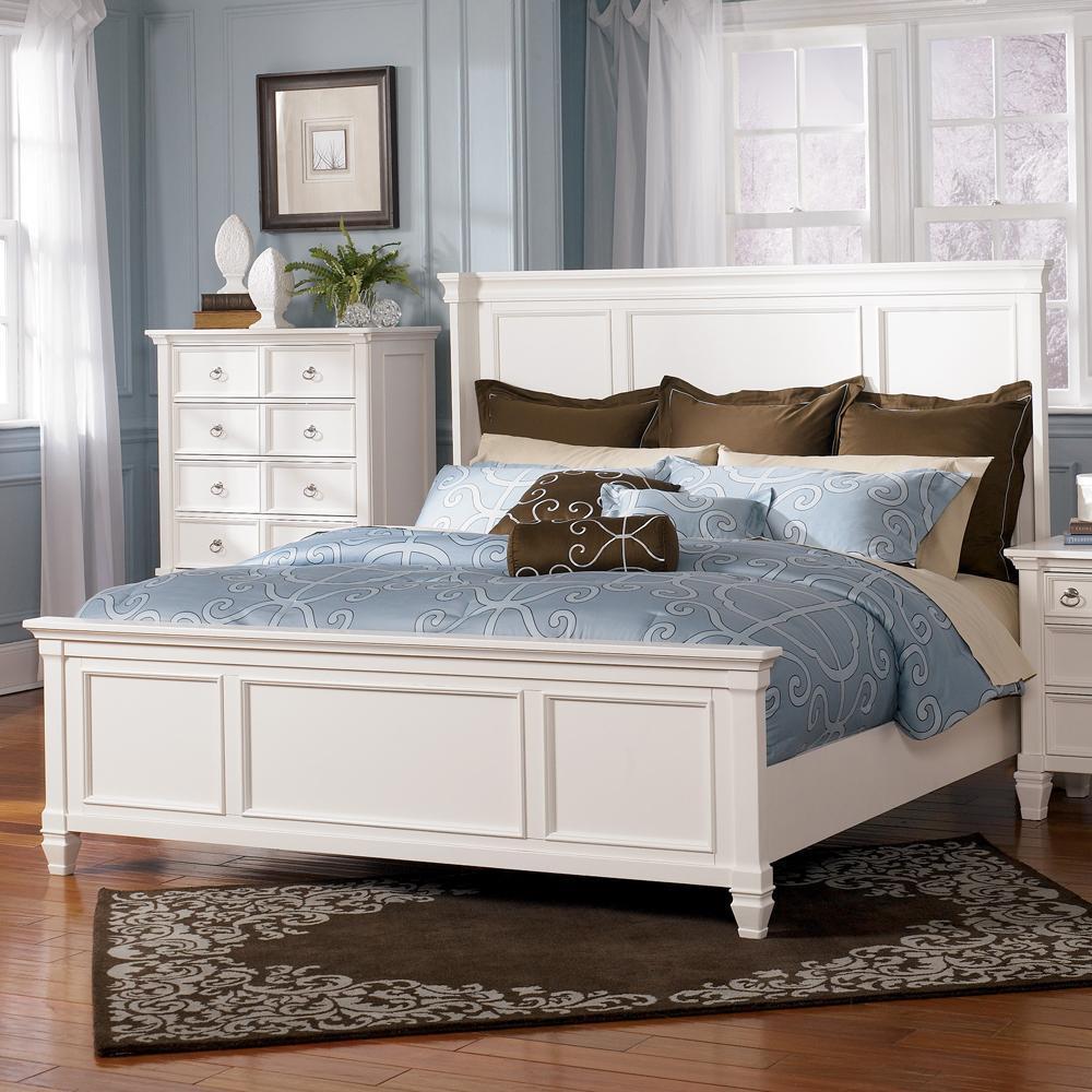 Millennium Prentice Queen Size Panel Bed  Wayside Furniture  Panel Beds