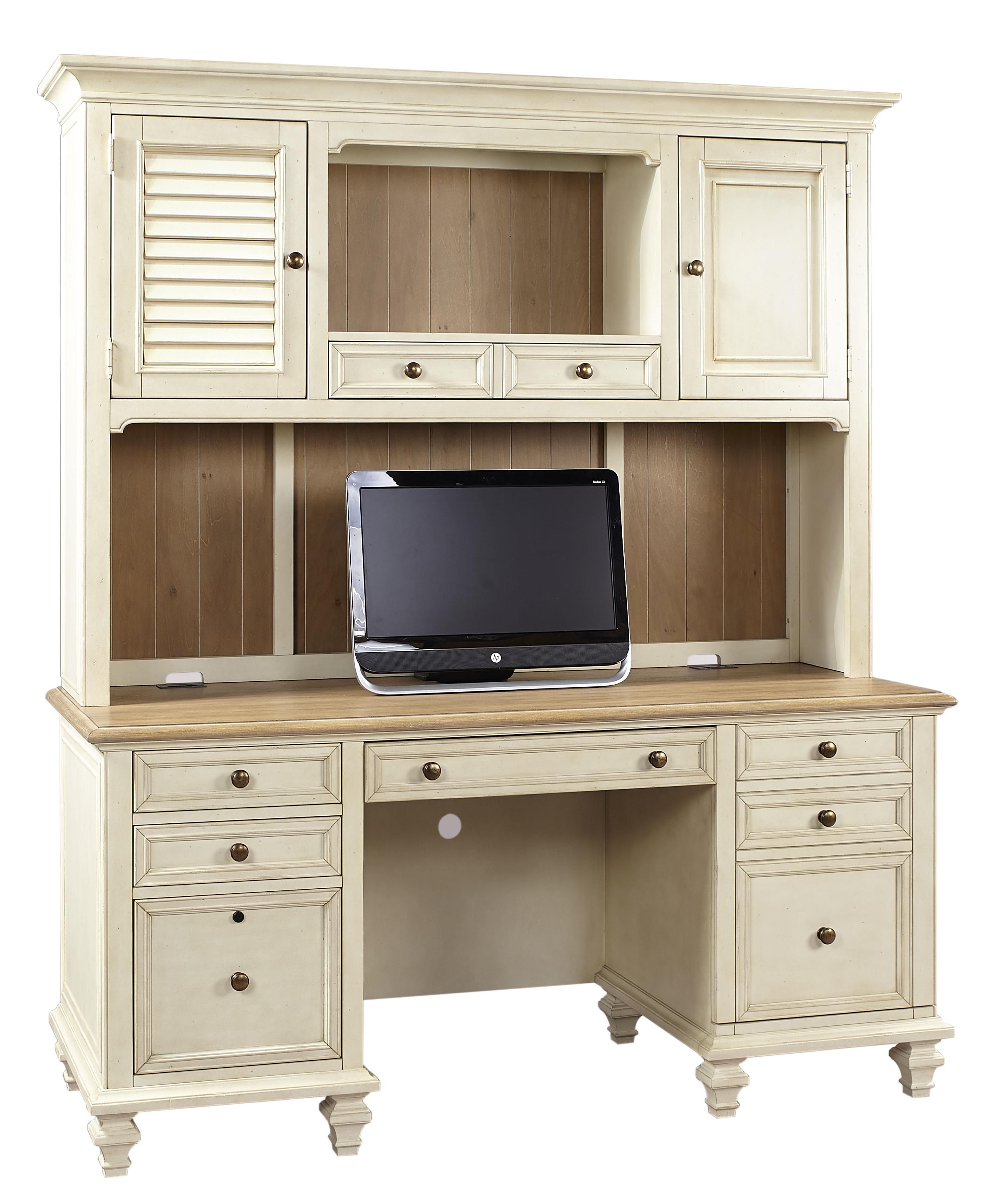 Aspenhome Cottonwood Crendenza With Printer Pullout And