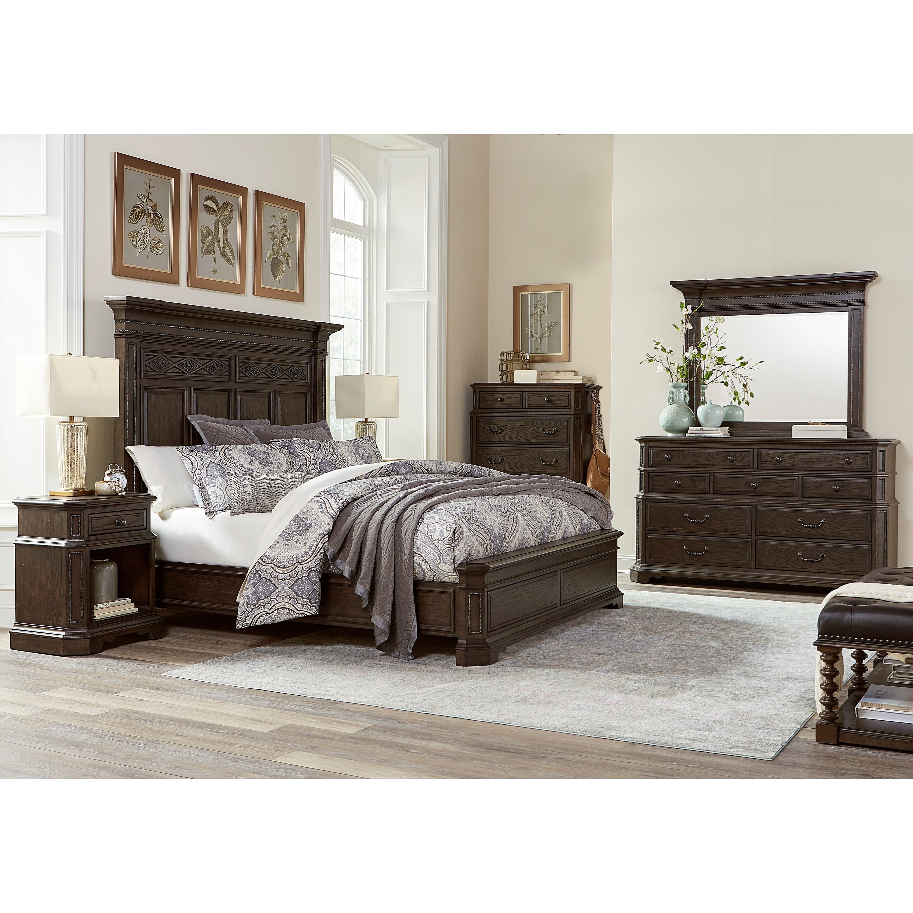 Highland Court Foxhill Traditional California King Size