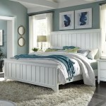 Aspenhome Retreat California King Farmhouse Panel Bed With Usb Charging Ports Walker S Furniture Panel Beds