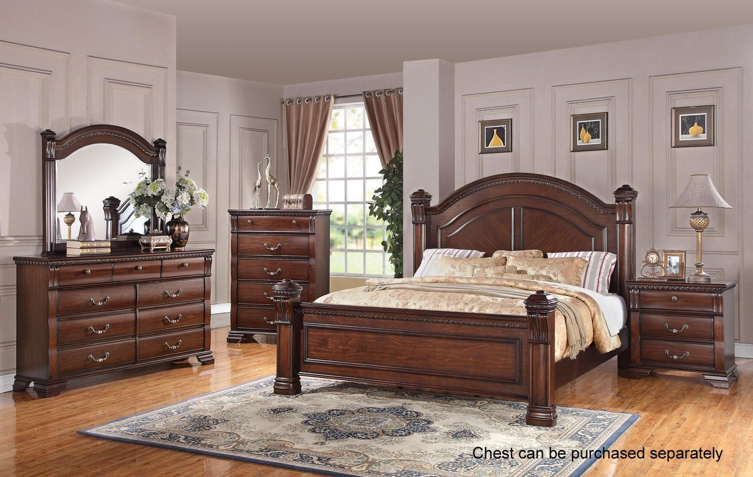 Austin Group Isabella 527  Royal Furniture  Bedroom Groups