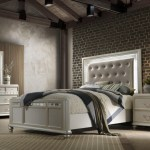 Avalon Kaleidoscope Glam Queen Upholstered Bed With Led Remote Headboard Royal Furniture Upholstered Beds