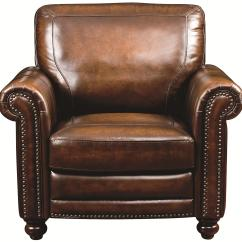 Upholstered Chair With Nailhead Trim Ergonomic Kenya Traditional Leather Nail Head Hamilton By Bassett