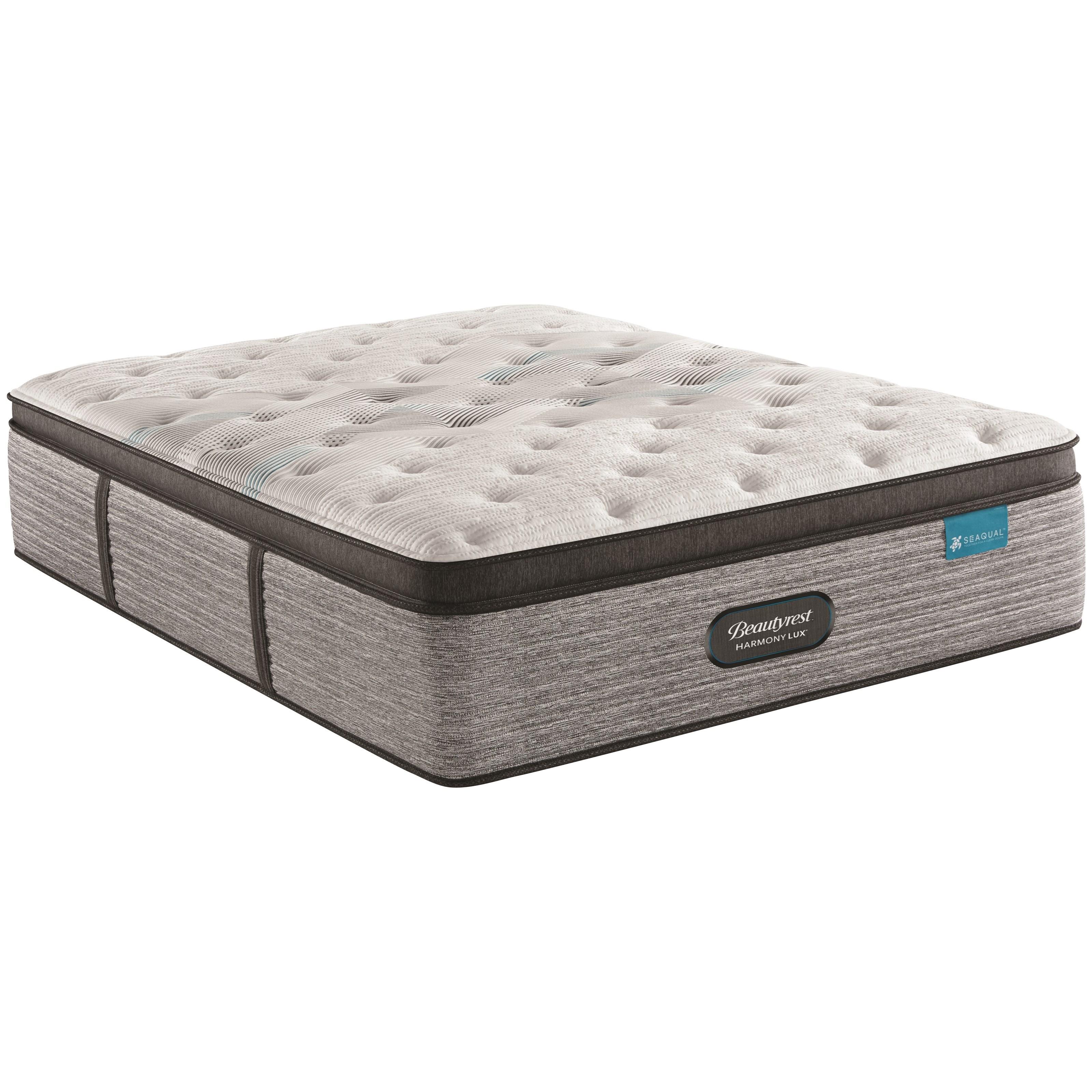 carbon series plush pt full 15 3 4 plush pillow top mattress