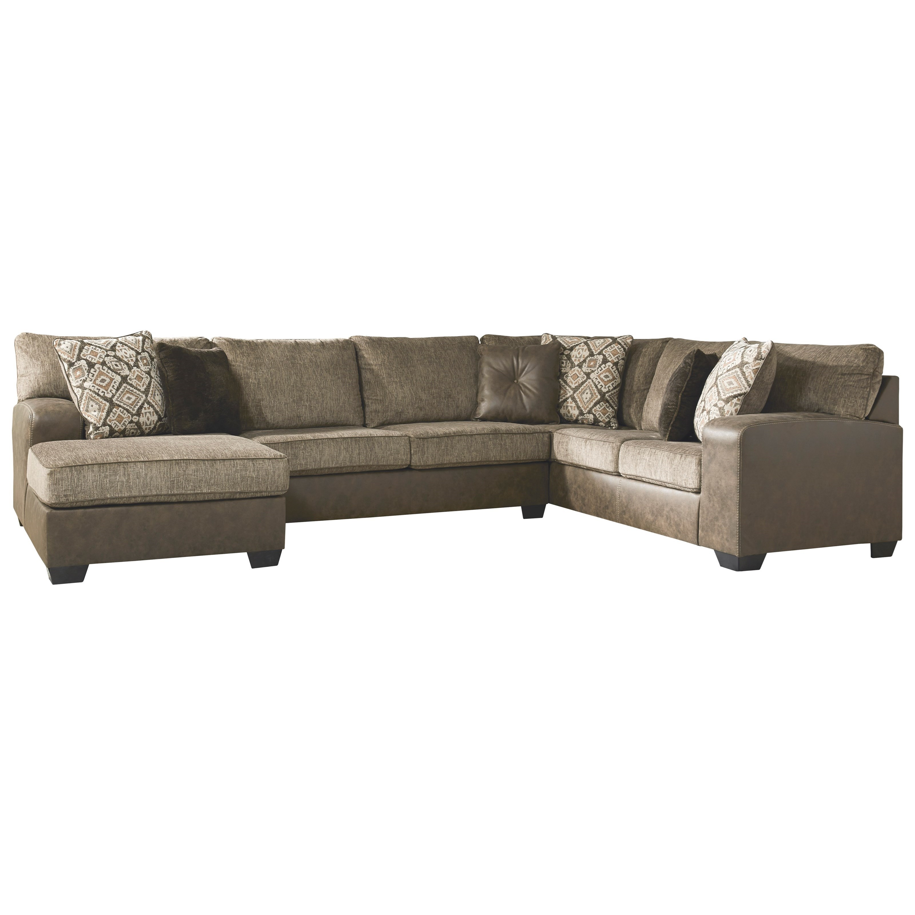 abalone 3 piece sectional