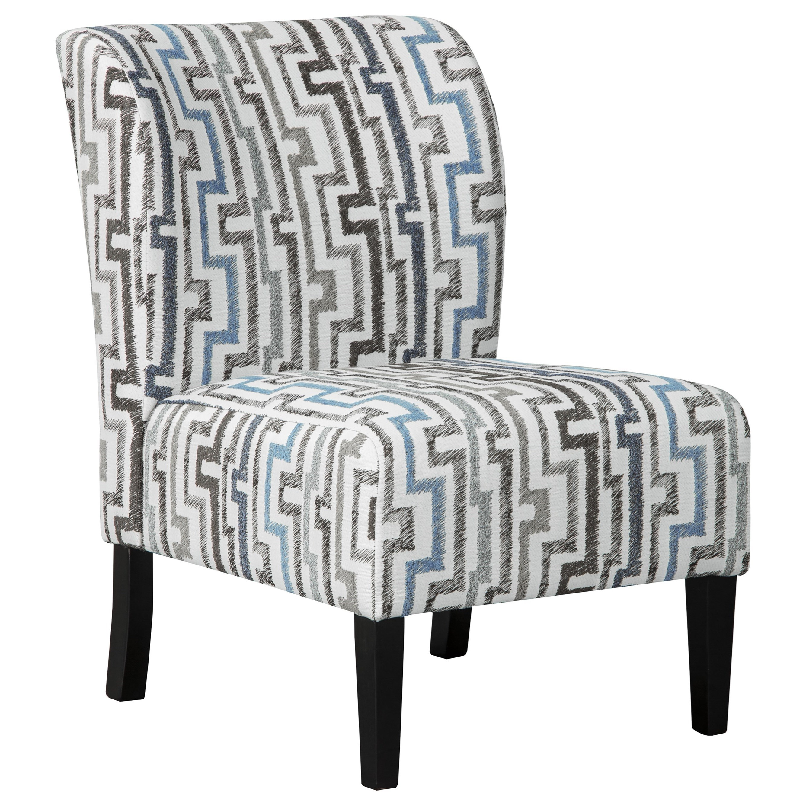 Rocking Accent Chairs Alsen Contemporary Accent Side Chair By Benchcraft By Ashley At Royal Furniture