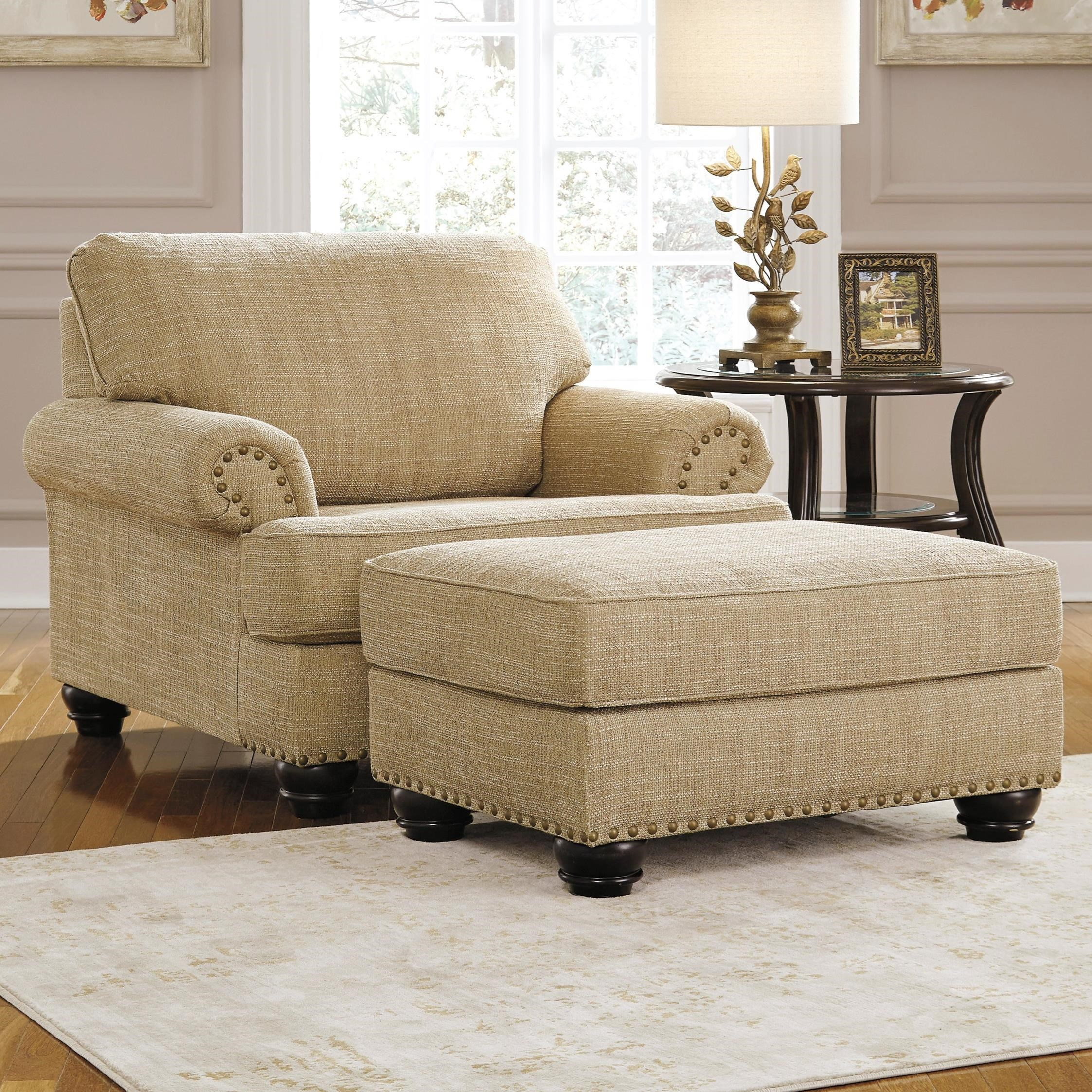 ashley furniture 14 piece living room sale red leather couch ideas candoro chair and a half & ottoman   becker ...