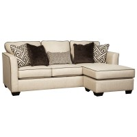Benchcraft Carlinworth Contemporary Queen Sofa Chaise ...