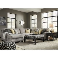 Benchcraft Cresson Contemporary 4-Piece Sectional with ...
