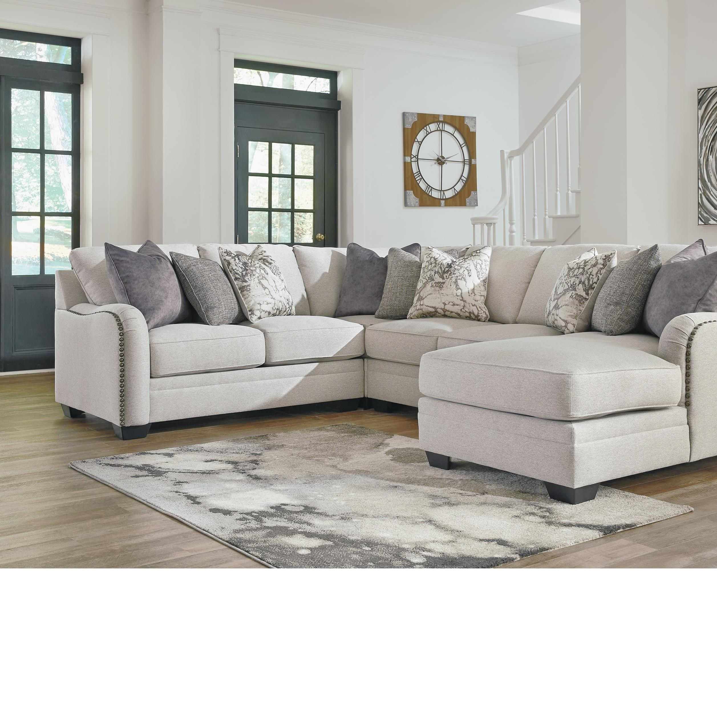 sectional sofas under 1000 00 queen size sofa benchcraft dellara casual 4 piece with right ...