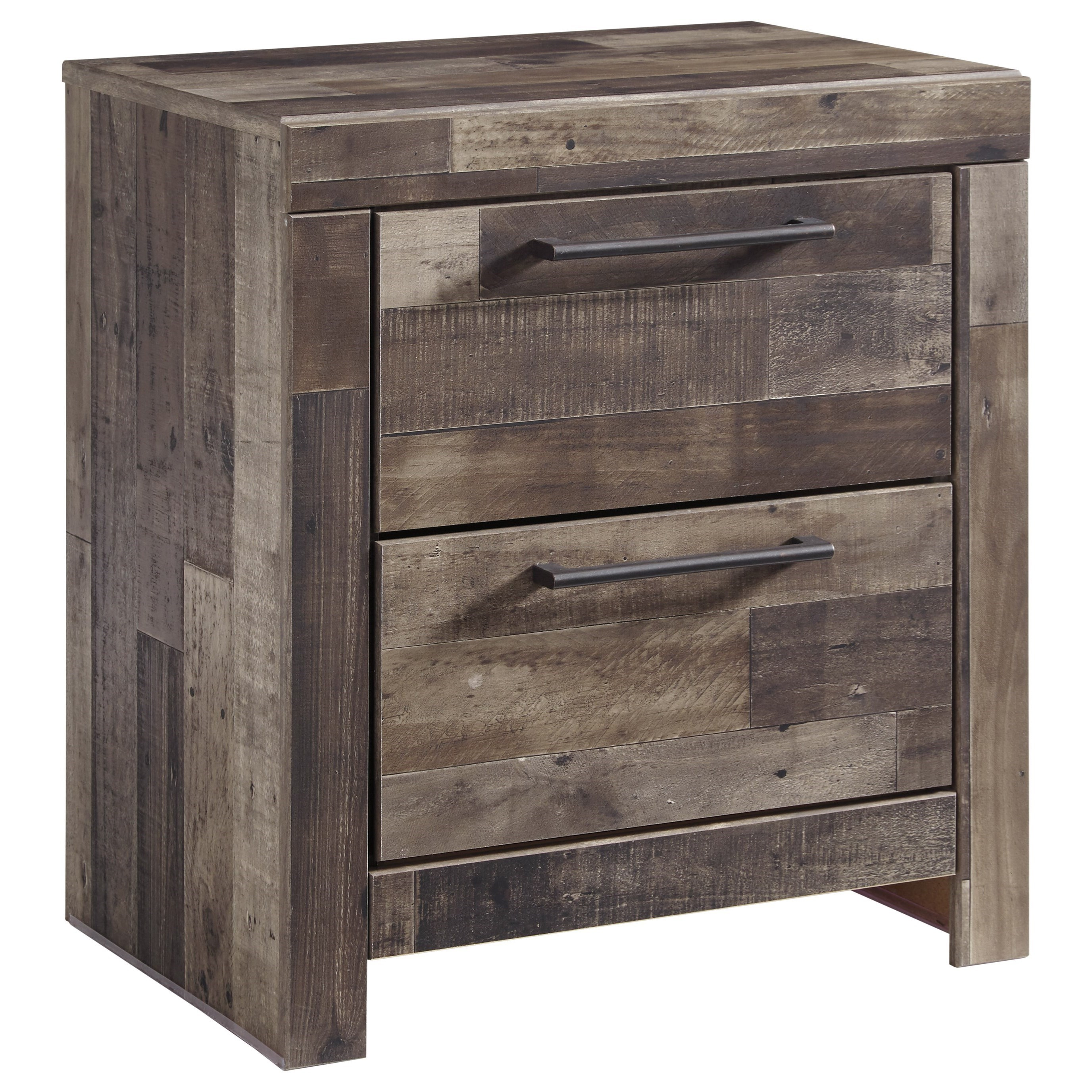 Benchcraft Derekson Two Drawer Night Stand With USB