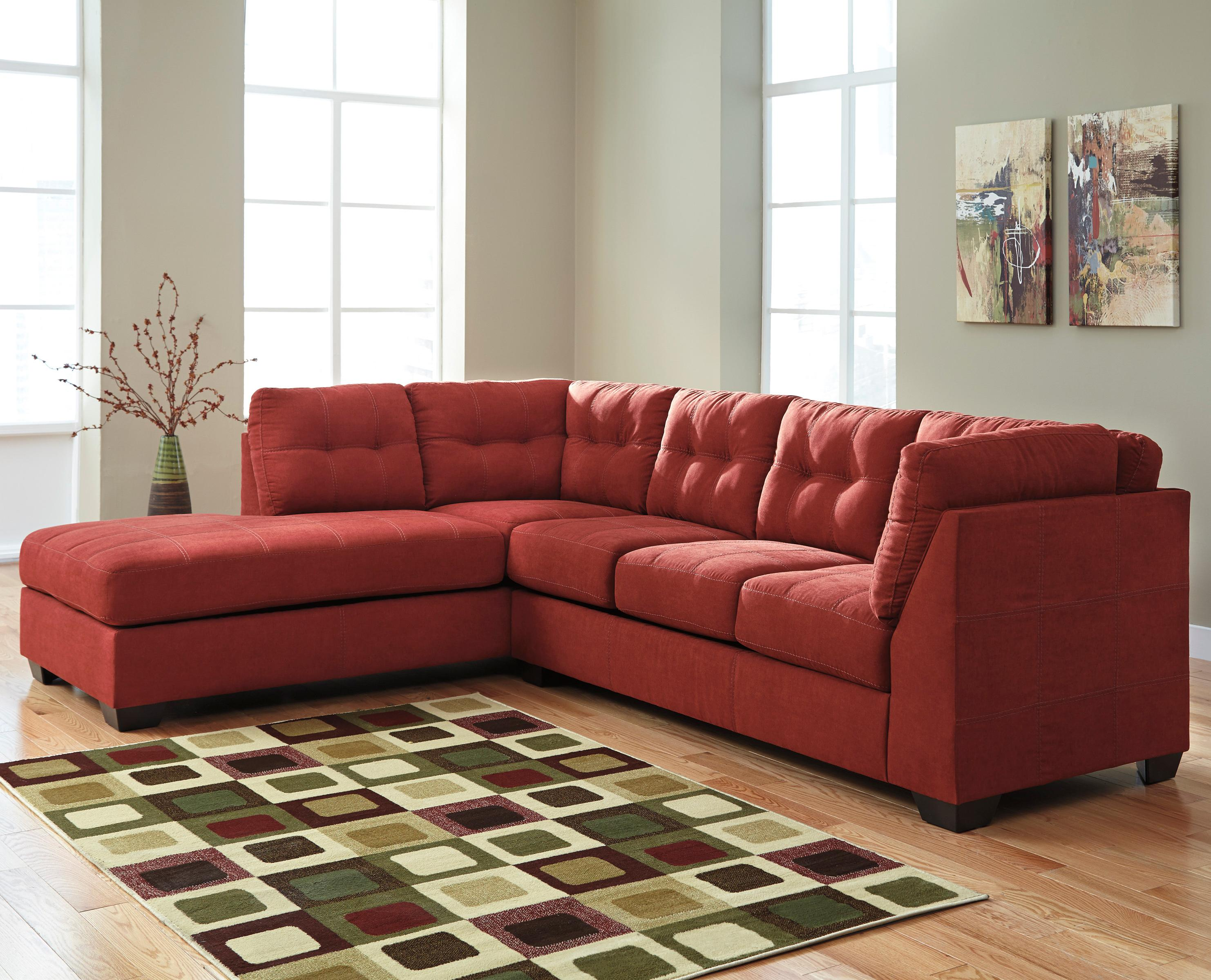 sienna sofa flexsteel leather sofas and loveseats benchcraft maier 2 piece sectional w sleeper left chaise