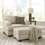 Marciana Chair And A Half With Ottoman