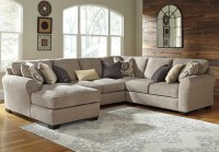 Benchcraft Pantomine 4-Piece Sectional with Left Chaise ...