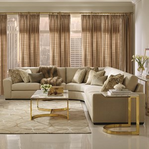 bernhardt sofas decorating living room with brown leather sofa lockett sectional seats 5 dunk bright furniture