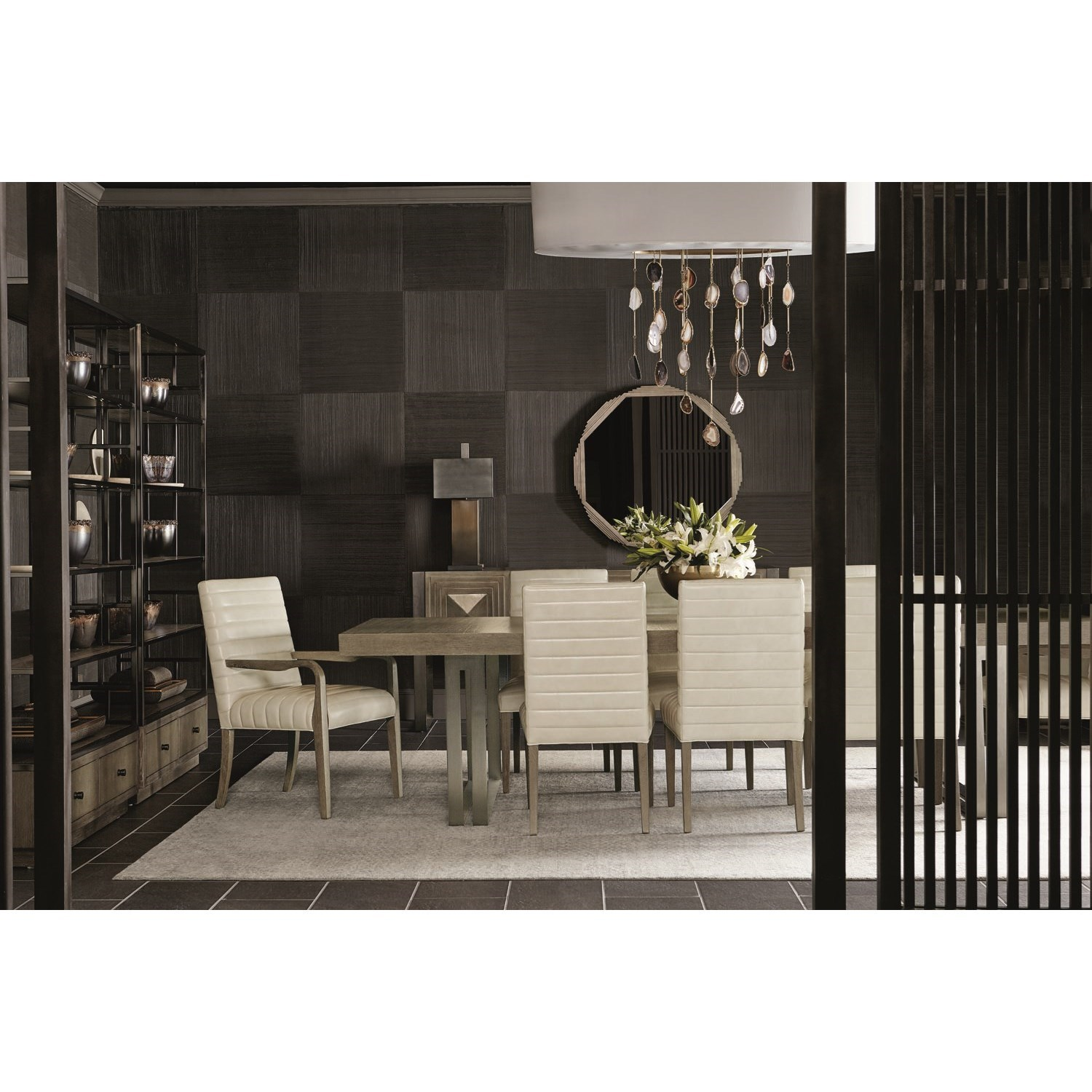 8 Chair Dining Set Mosaic 120