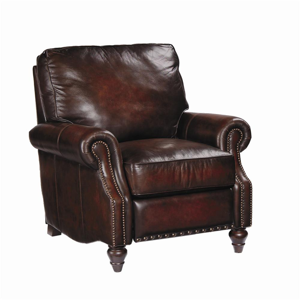 Bernhardt Upholstered Accents Leather Murphy Reclining