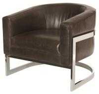 Bernhardt Upholstered Accents Callie Chair with Metal Legs ...