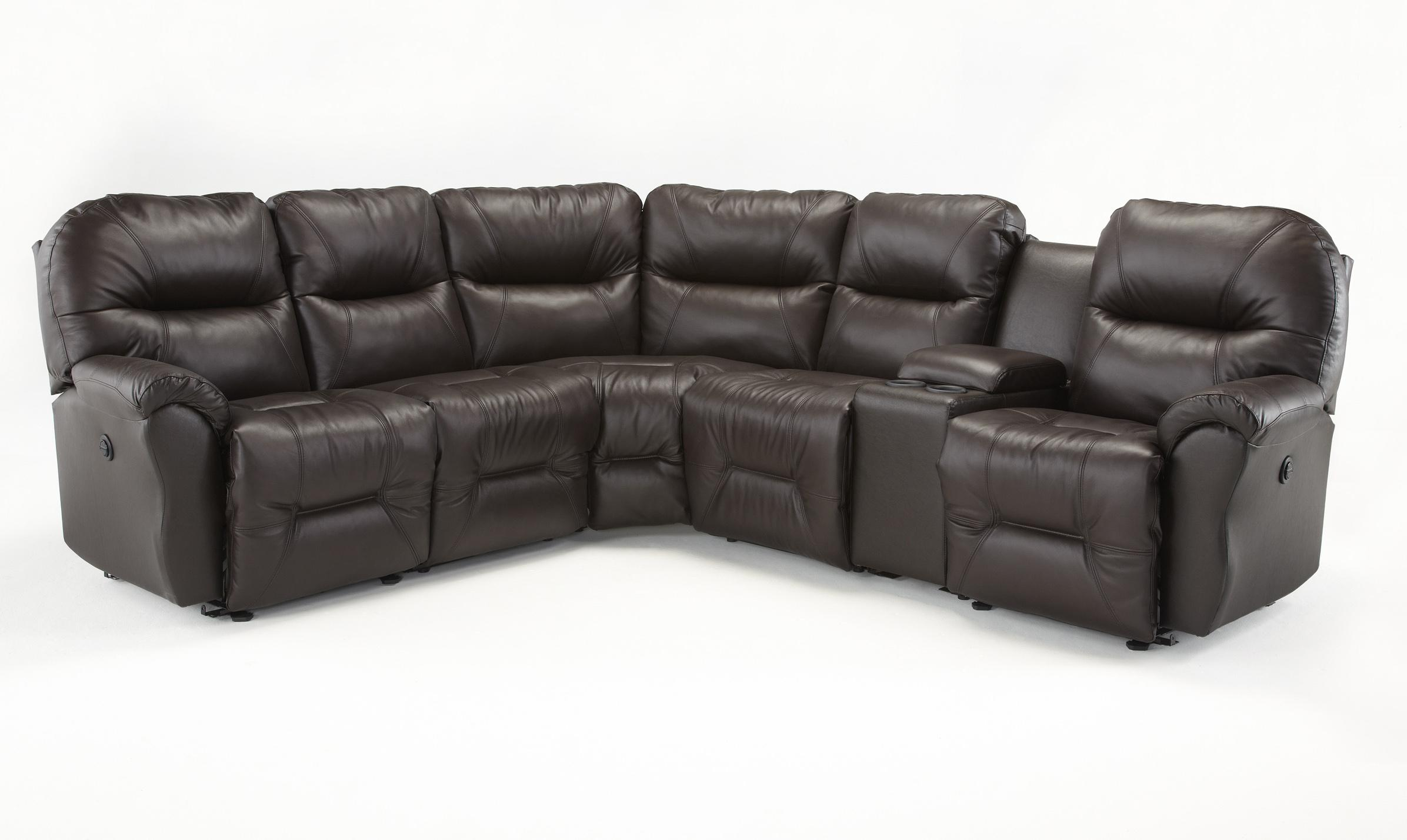 bodie 6 pc power reclining sectional sofa