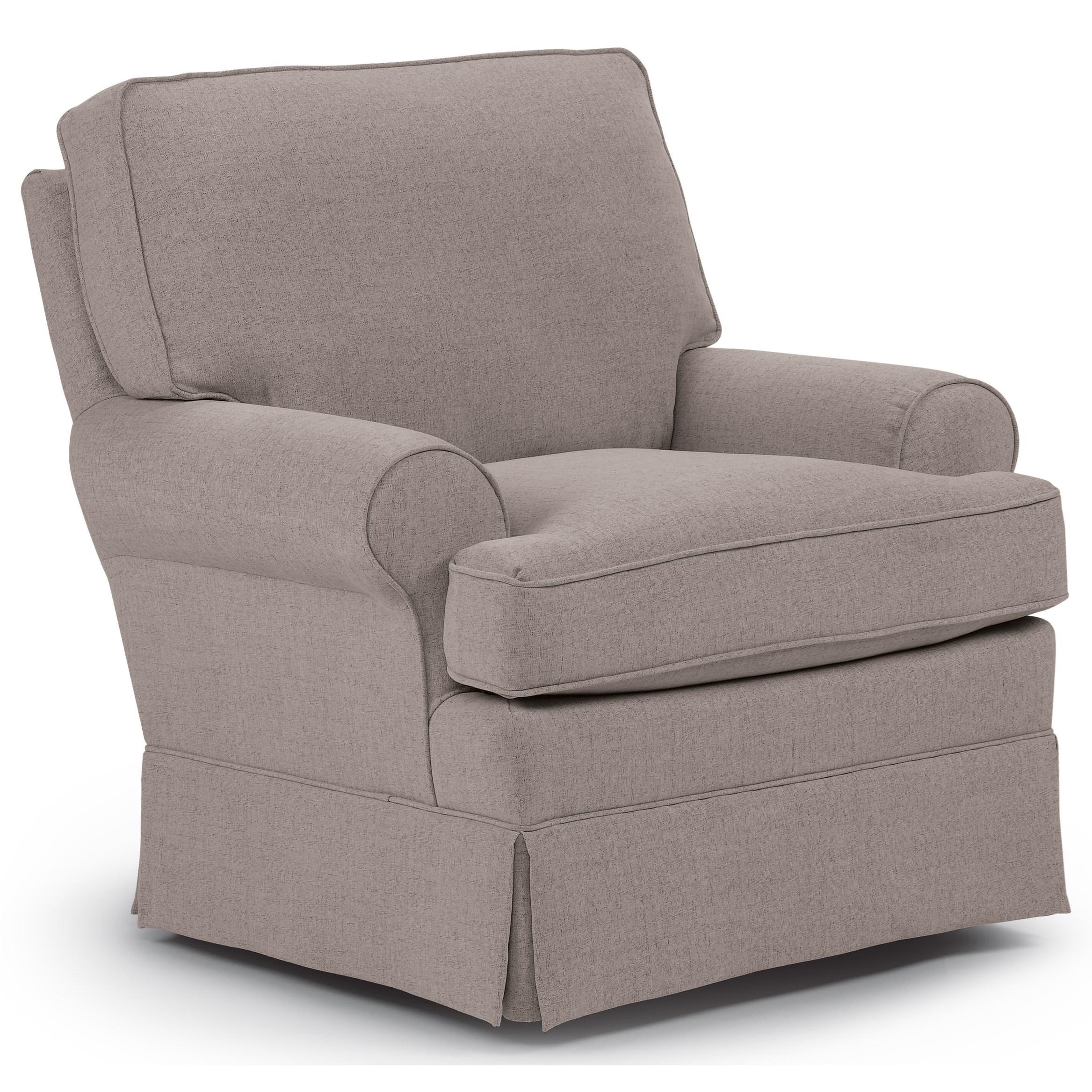 Best Home Furnishings Swivel Glide Chairs Quinn Swivel