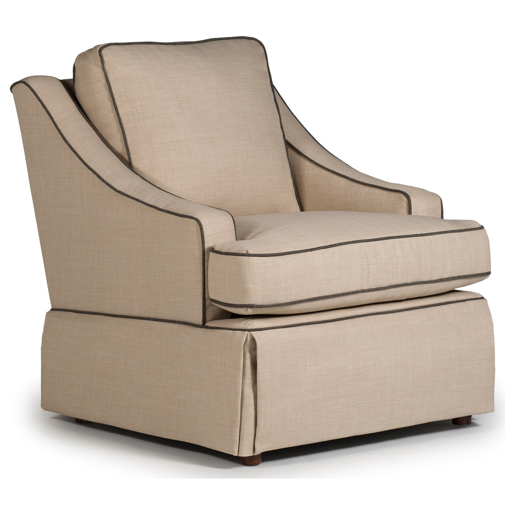 Swivel Glide Chairs Contemporary Ayla Swivel Glider Chair By Best Home Furnishings At Dean Bosler S