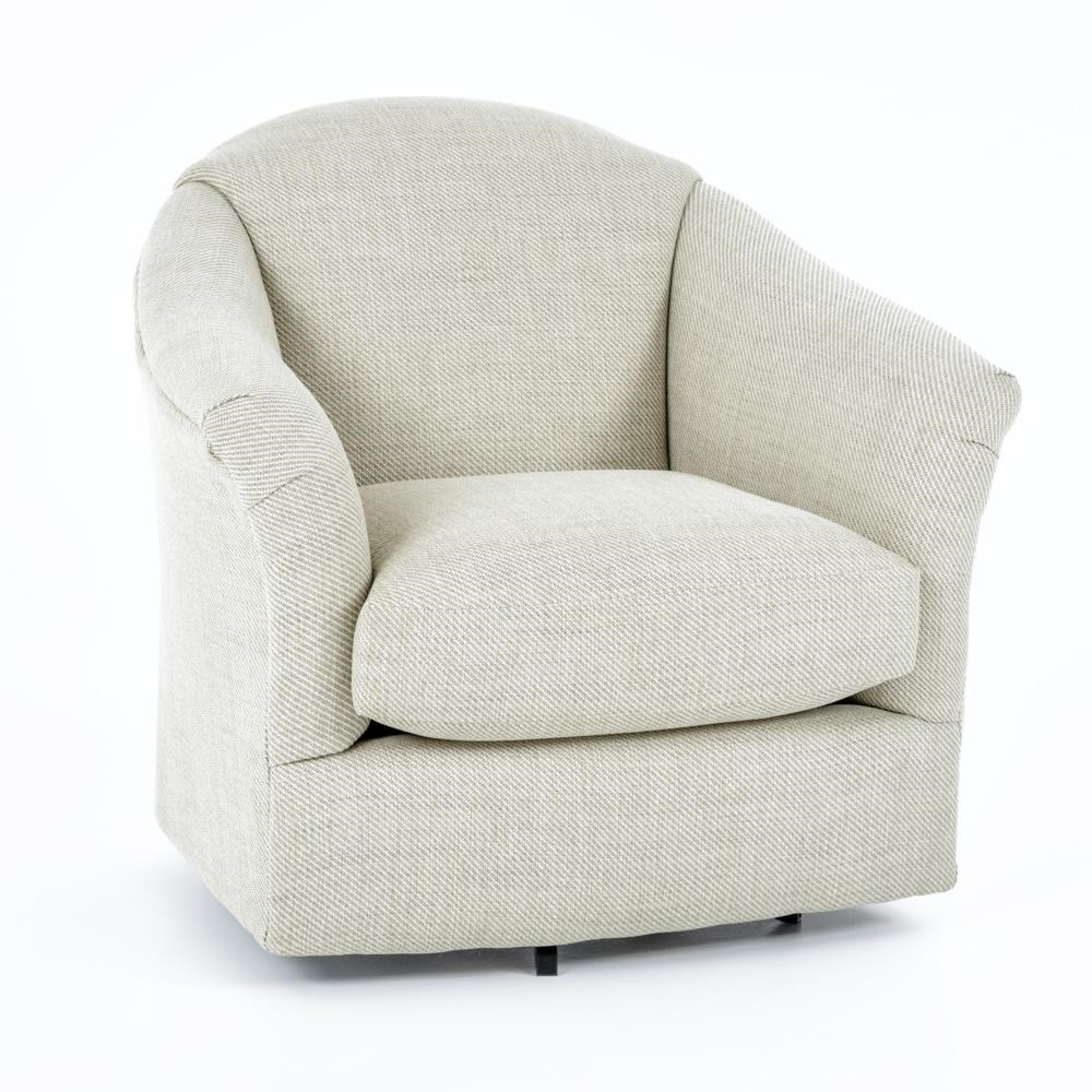 Best Home Furnishings Swivel Glide Chairs 2878 Darby