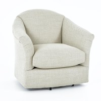Best Home Furnishings Swivel Glide Chairs 2878 Darby ...