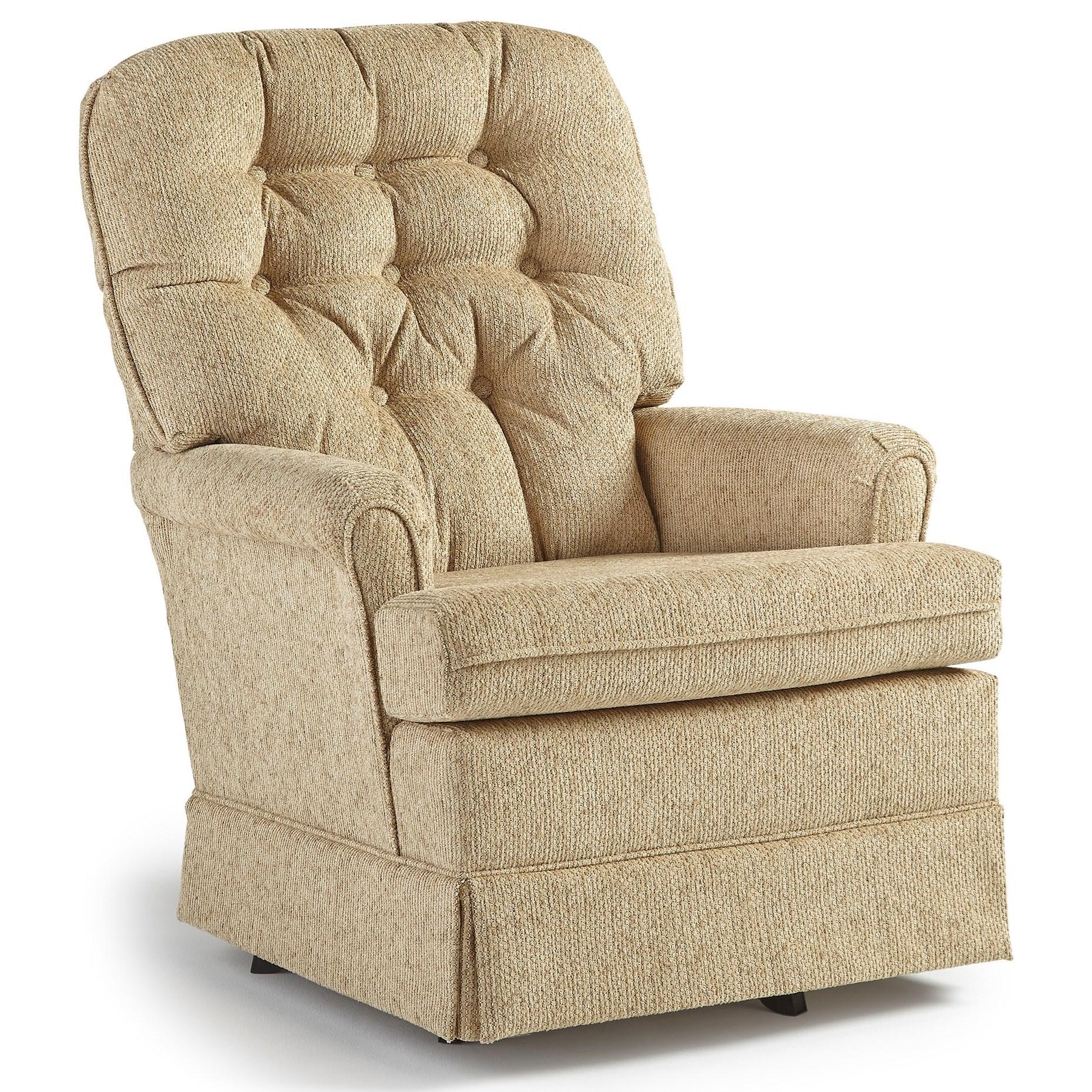Best Home Furnishings Chairs  Swivel Glide Joplin Swivel