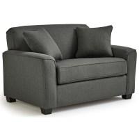 Best Home Furnishings Dinah Twin Sleeper Chair and Half ...