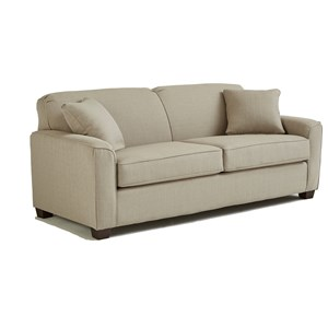 Best Home Furnishings Dinah S16AF Contemporary Full Sofa Sleeper With Air Dream Mattress Baer