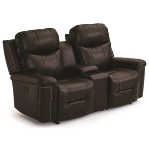 leather couch and chair giant lawn faux furniture jacksonville mart pwr tilt headrest wall saver console love