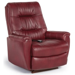 Recliner Chair With Ottoman Manufacturers Best Reclining Home Furnishings Recliners - Petite Felicia Power Lift Button-tufted Back ...