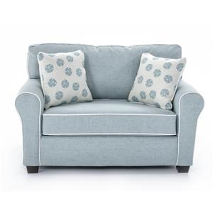 sleeper chair twin race car computer best home furnishings shannon c14te bed sofa