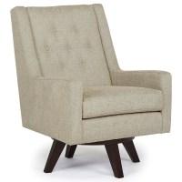 Best Home Furnishings Chairs - Swivel Barrel Kale Swivel ...