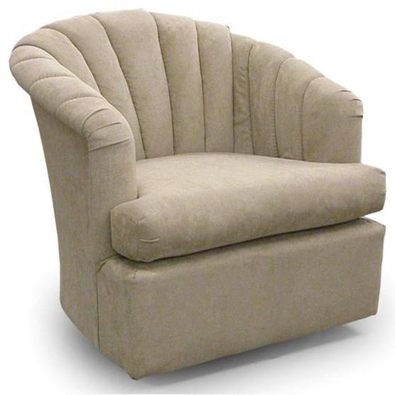 Best Home Furnishings Chairs Swivel Barrel Elaine Swivel