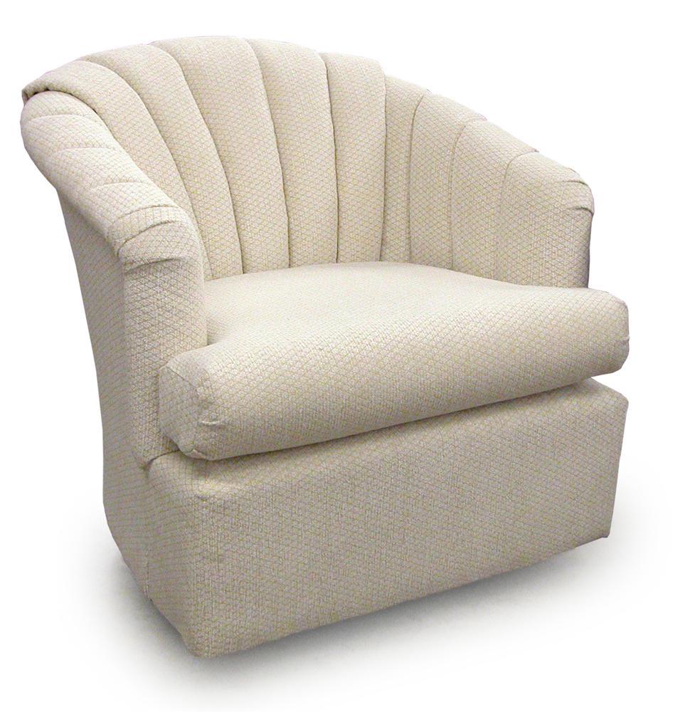 Best Home Furnishings Chairs  Swivel Barrel 2558 Elaine