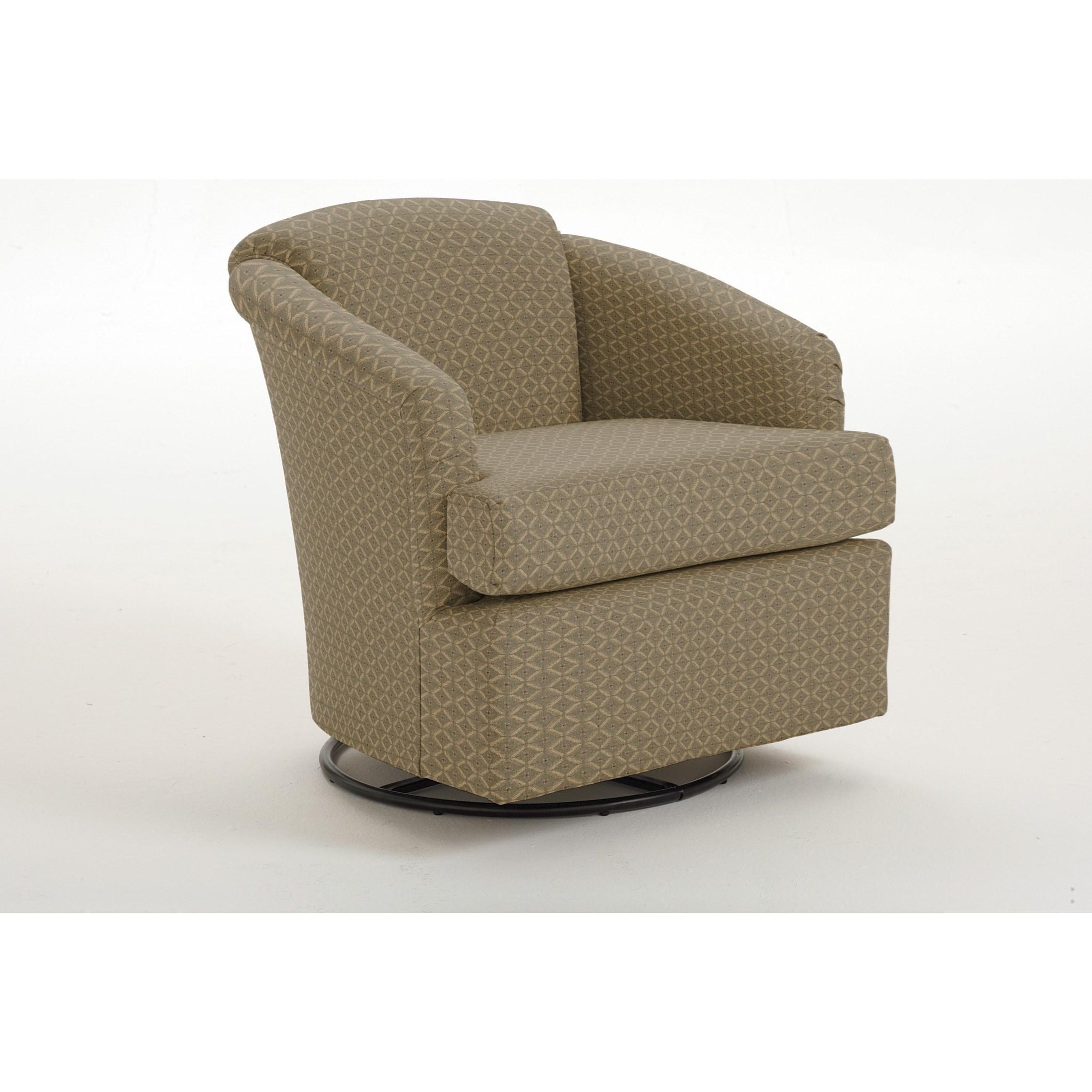 Best Home Furnishings Chairs  Swivel Barrel Cass Swivel