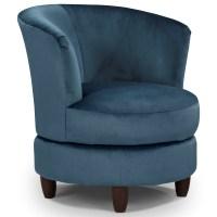 Best Home Furnishings Chairs - Swivel Barrel Palmona ...